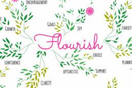 flourish header