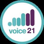 voice 21 logo
